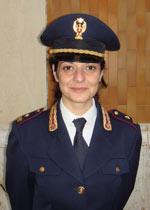 Il commissario capo Maria Antonietta Curtolillo