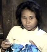 la ragazza cambogiana