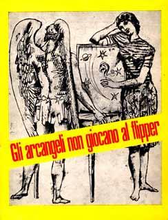 La locandina originale dello spettacolo di Dario Fo