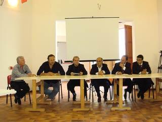 Da sx: Lo Iacono, Romoli, Mongelli, Venuto, Ashfraf Reda e Mohamed Badar.