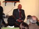 Mario Caniglia nel corso del suo intervento