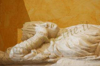 Particolare del sarcofago della regina Adelasia