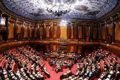 L'aula del Senato