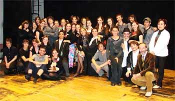 I ragazzi del Liceo Classico Spedalieri di Catania, vincitori della VII^ edizione di
